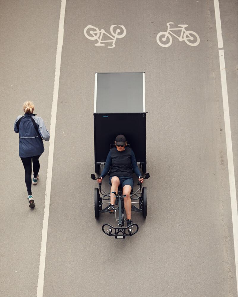 Truly resource & energy efficient e-cargo bikes