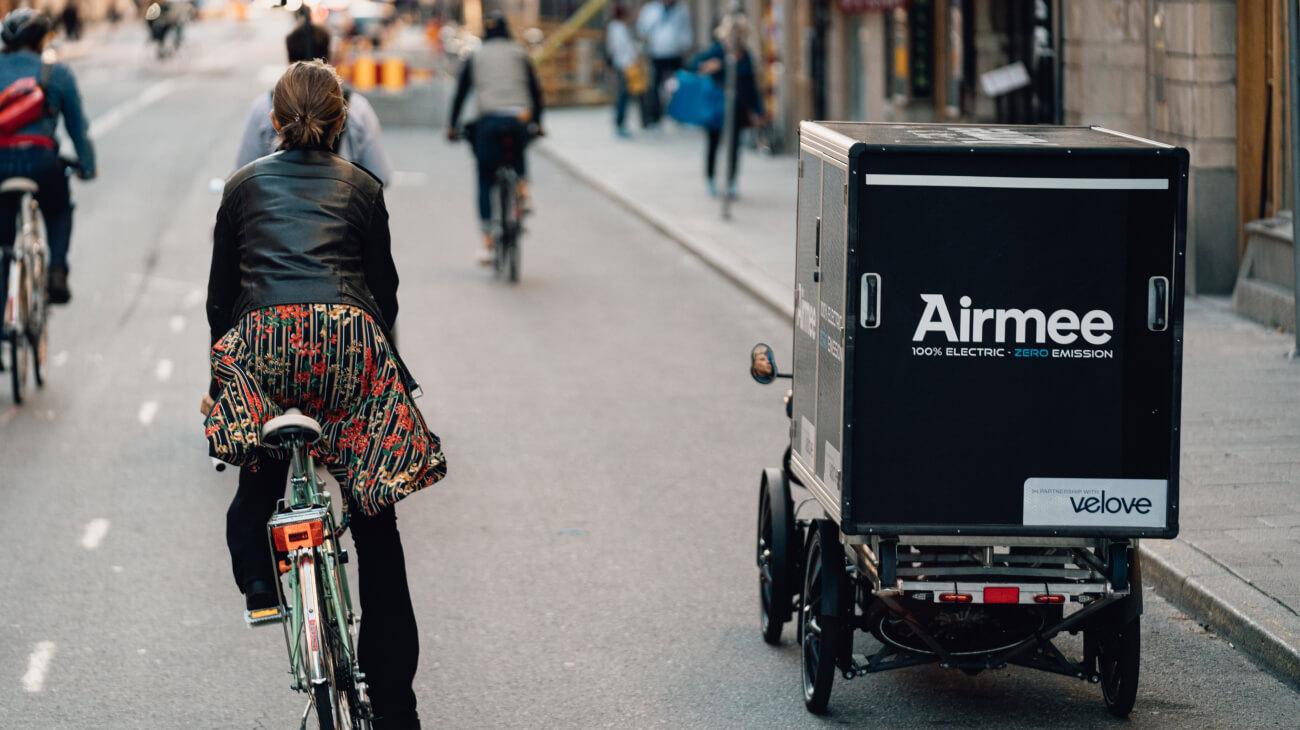 Less vans - more liveable cities