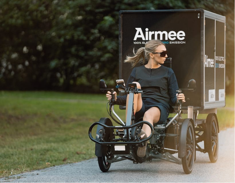 Airmee and Velove Partners
