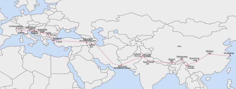 Armadillo electric cargo bike from Switzerland to China