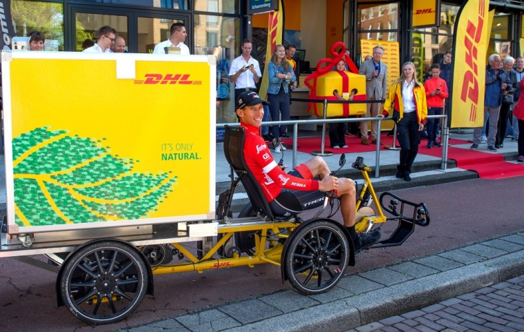 DHL Express electric cargo bike last mile solution