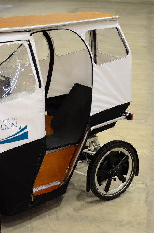 electric cargo bike last mile transportation