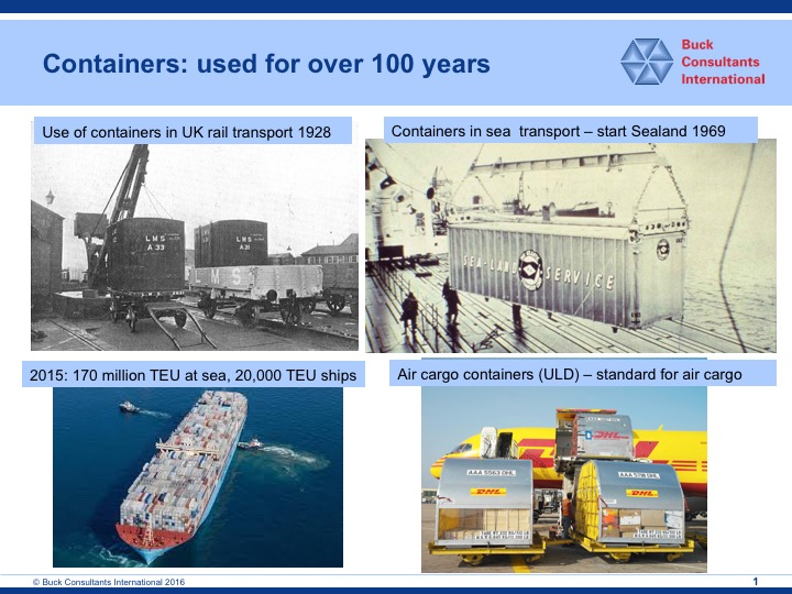 Kees Verweij – Buck Consultants International the importance of containerisation