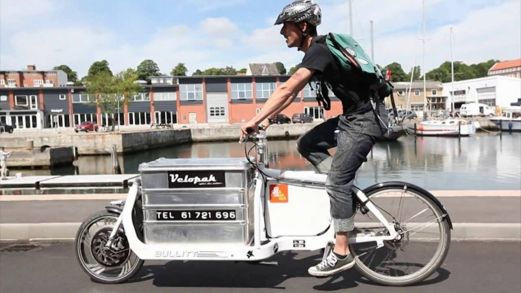 Open terminals that are city-owned infrastructure help cargo bikes last mile solutions.