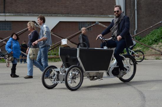 electric cargo bike last mile solution