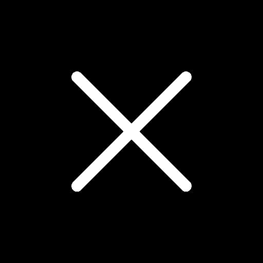 white x