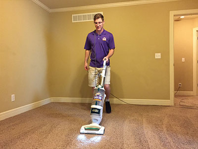 Lease End professional carpet cleaning