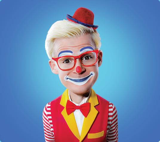 Popcorn the Clown