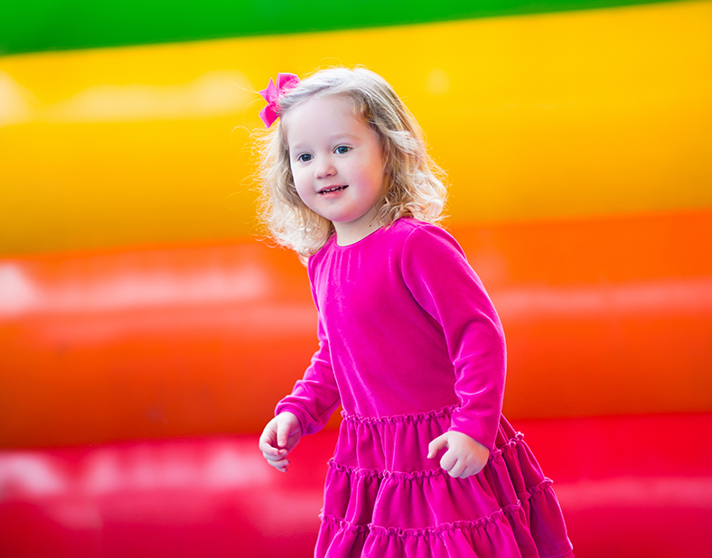 Bouncy Castles for Kids Party