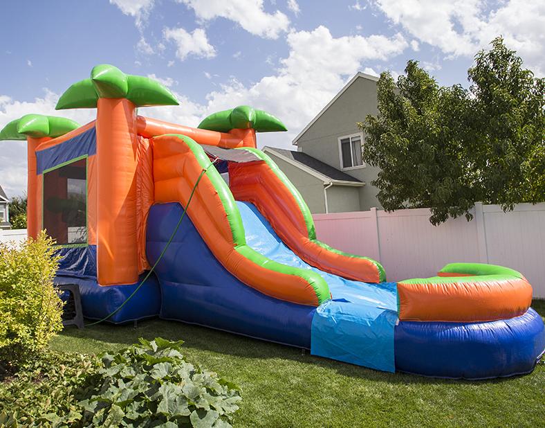 Tropical Bouncy Castle Rental