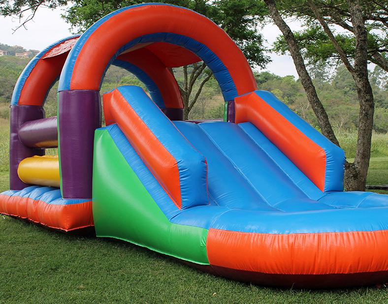 Rainbow Bouncy Castle Hire