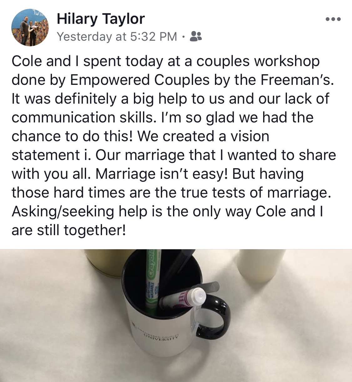 best couples workshop