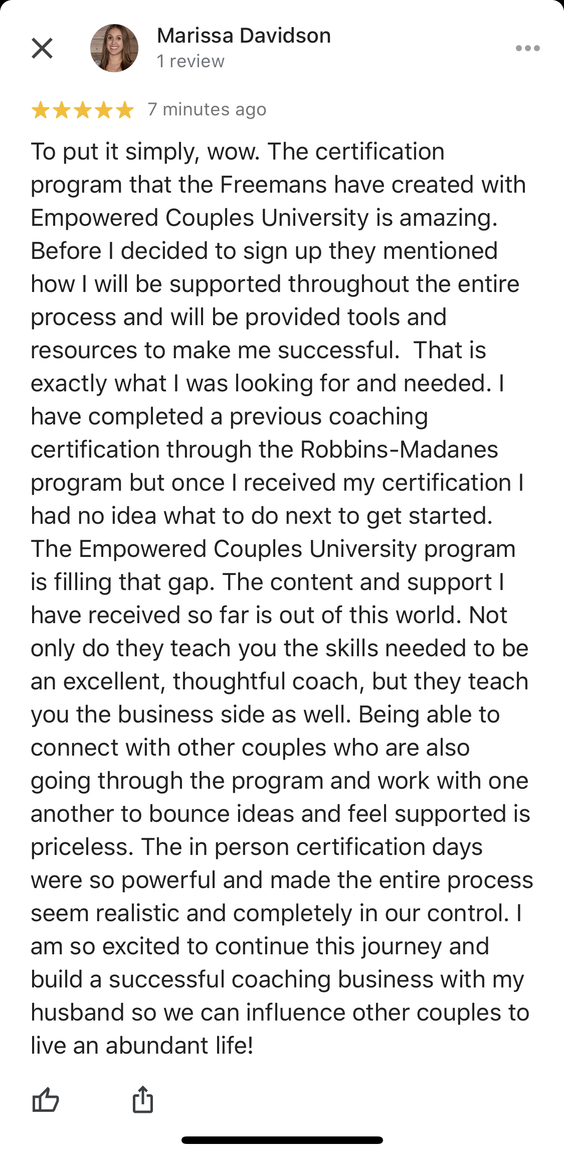best relationship coaching certification