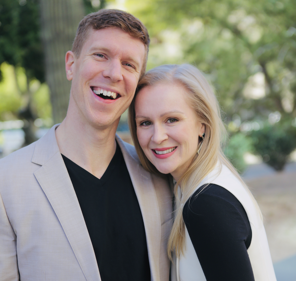 A photo of Aaron and Jocelyn Freeman