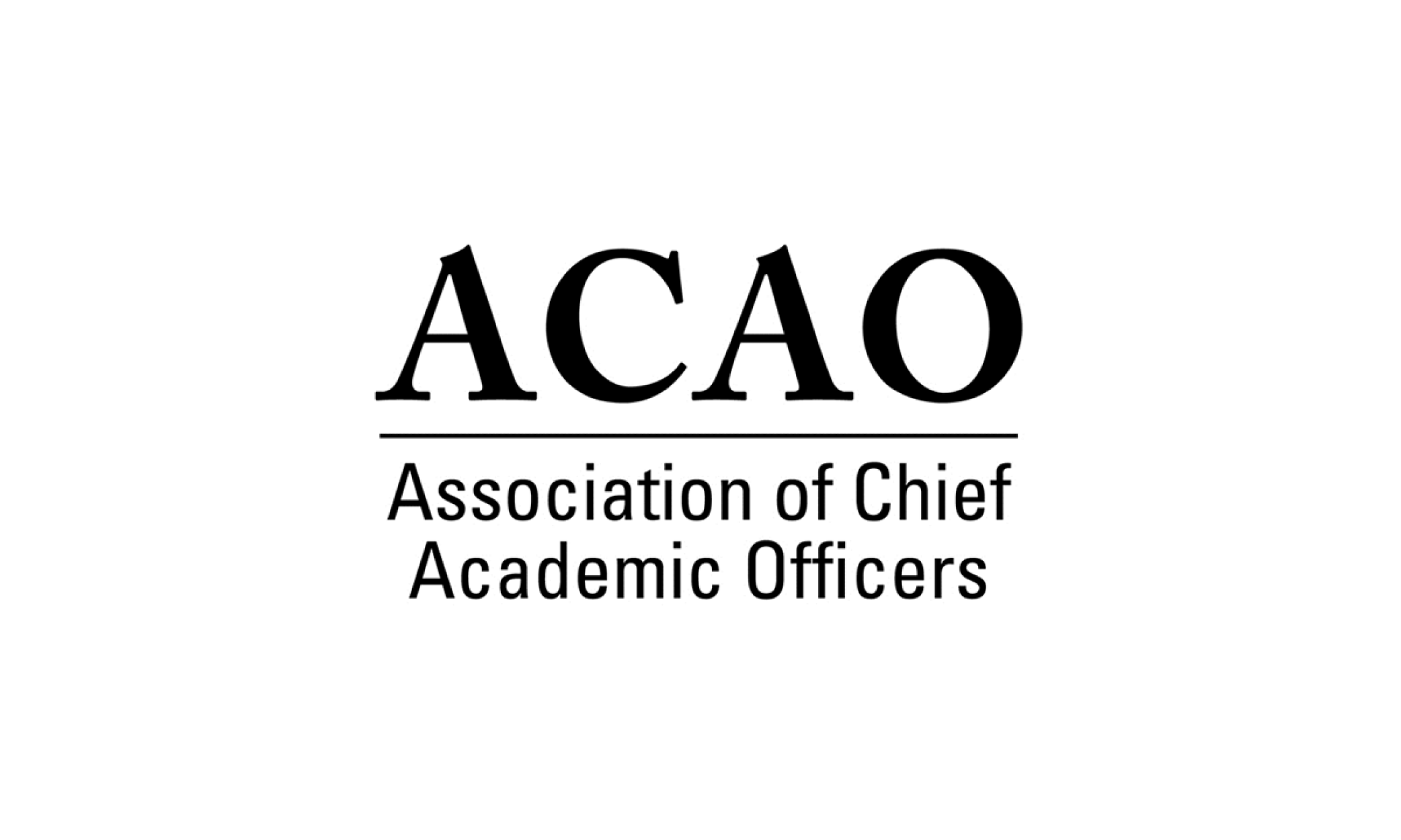 Association of Chief Academic Officers