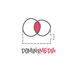logo for domin8 designs