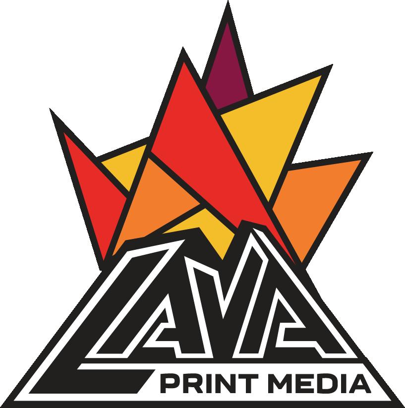 Lava Print Media header logo