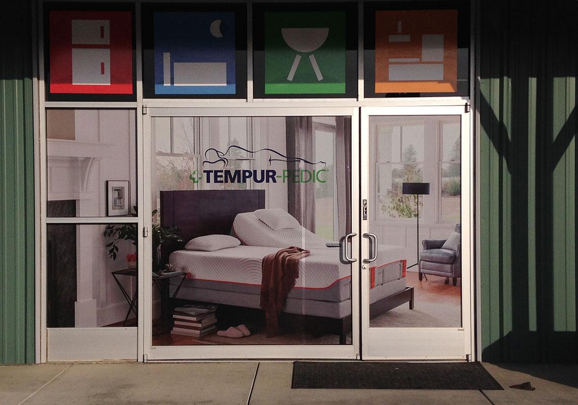 Idlers tempur pedic windows