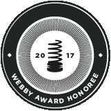 2017 Webby Award Honoree