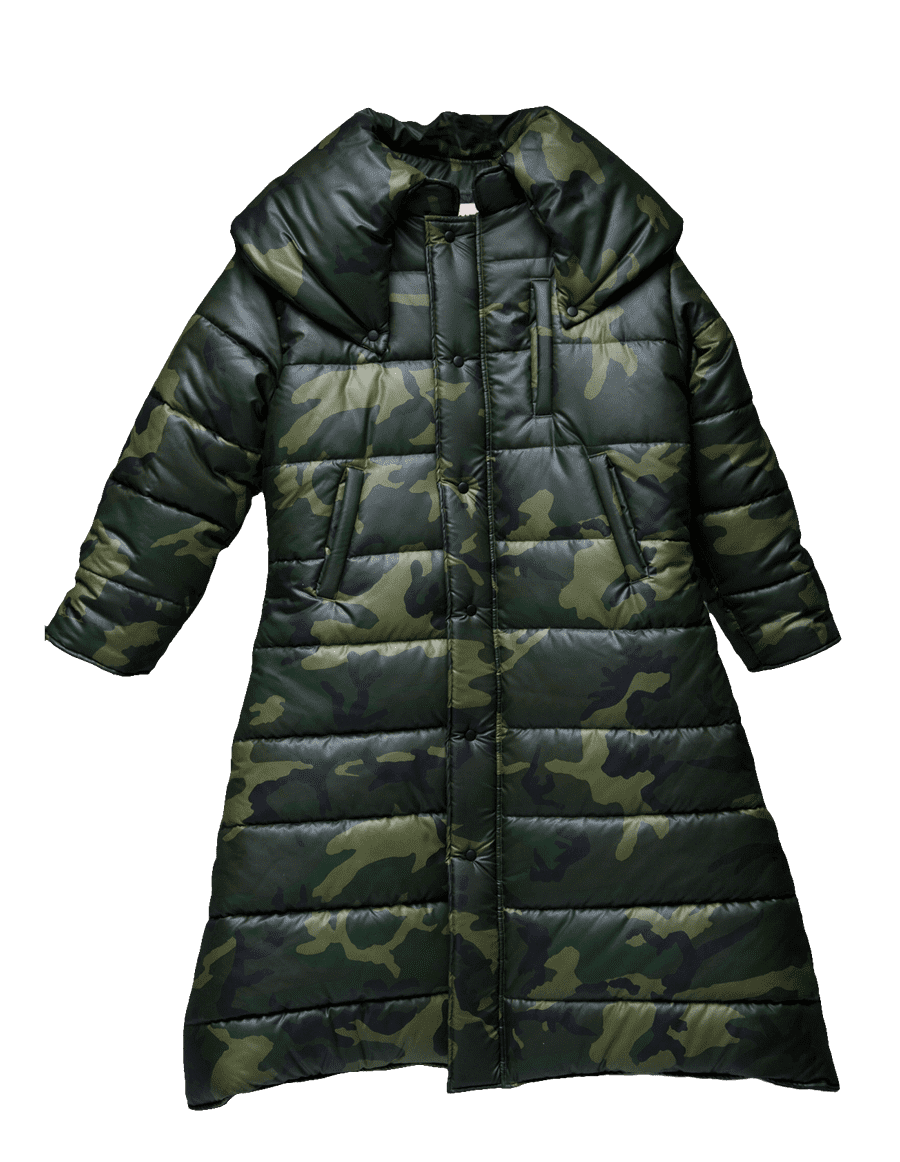 Big Ass Camo Coat