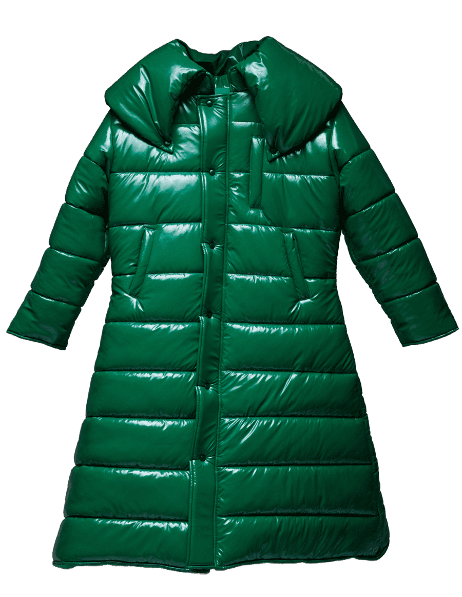 Big Ass Green Coat