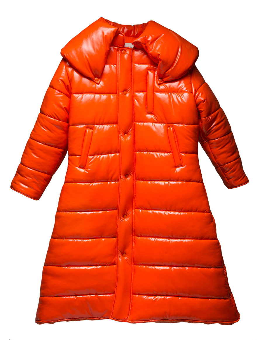 Big Ass Blood Orange Coat