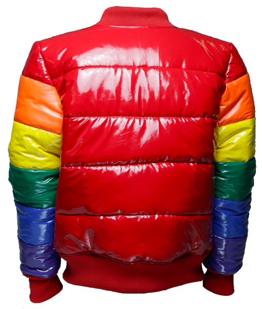 COLORED BOMBER JACKET