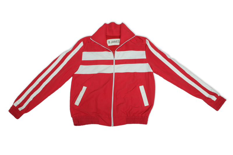 "Red ""Determination Loading"" Tracksuit"