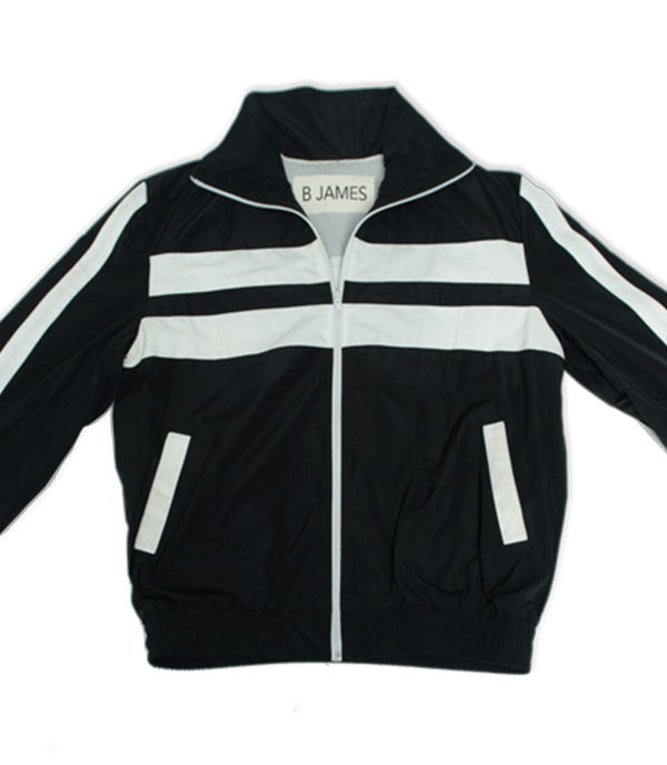 "Black Download Complete tracksuit. Includes black ""Download Complete"" track jacket and matching black 2 pocket track pants. Track Jacket includes double pockets and full front zipper."
