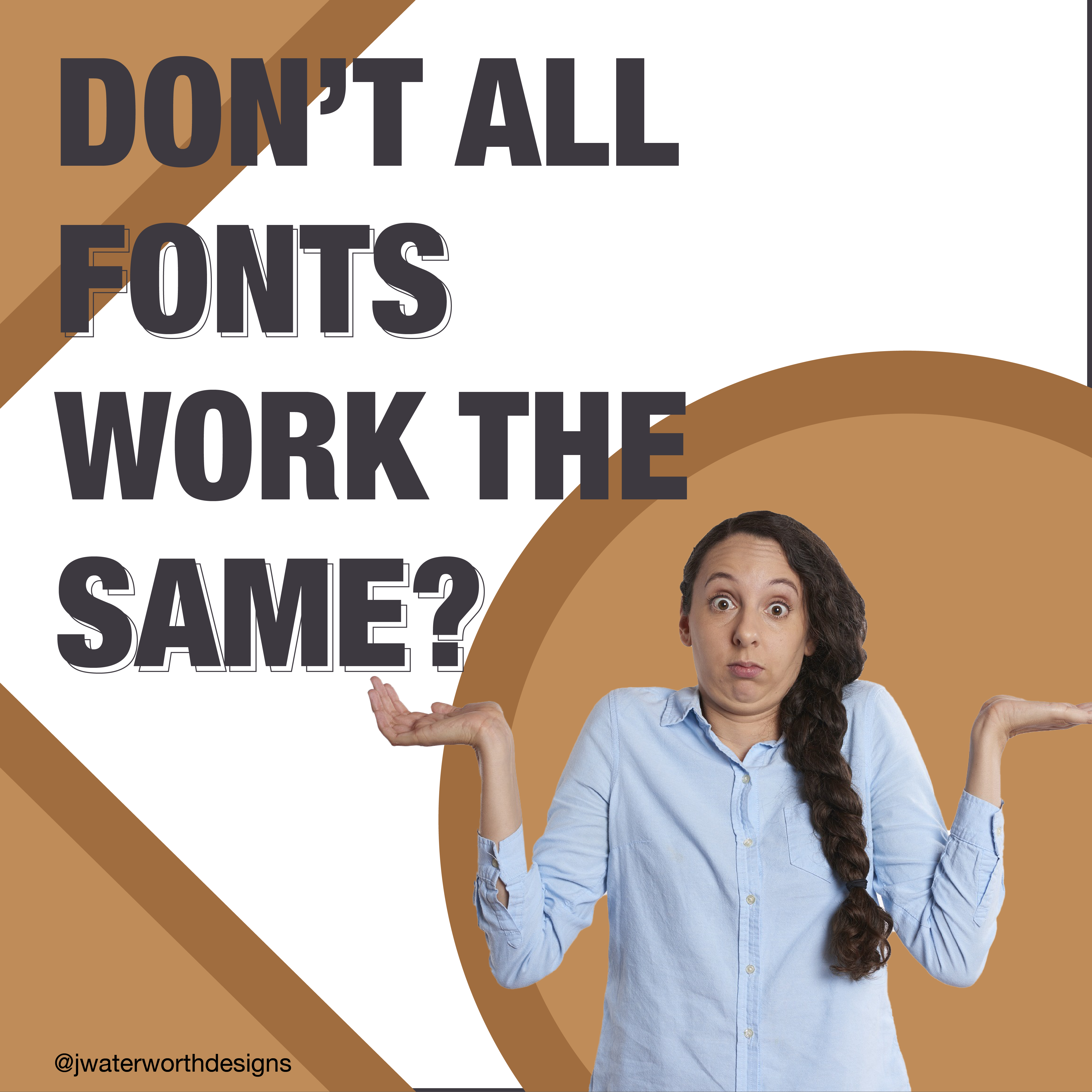 Does choosing the right font matter for your design?