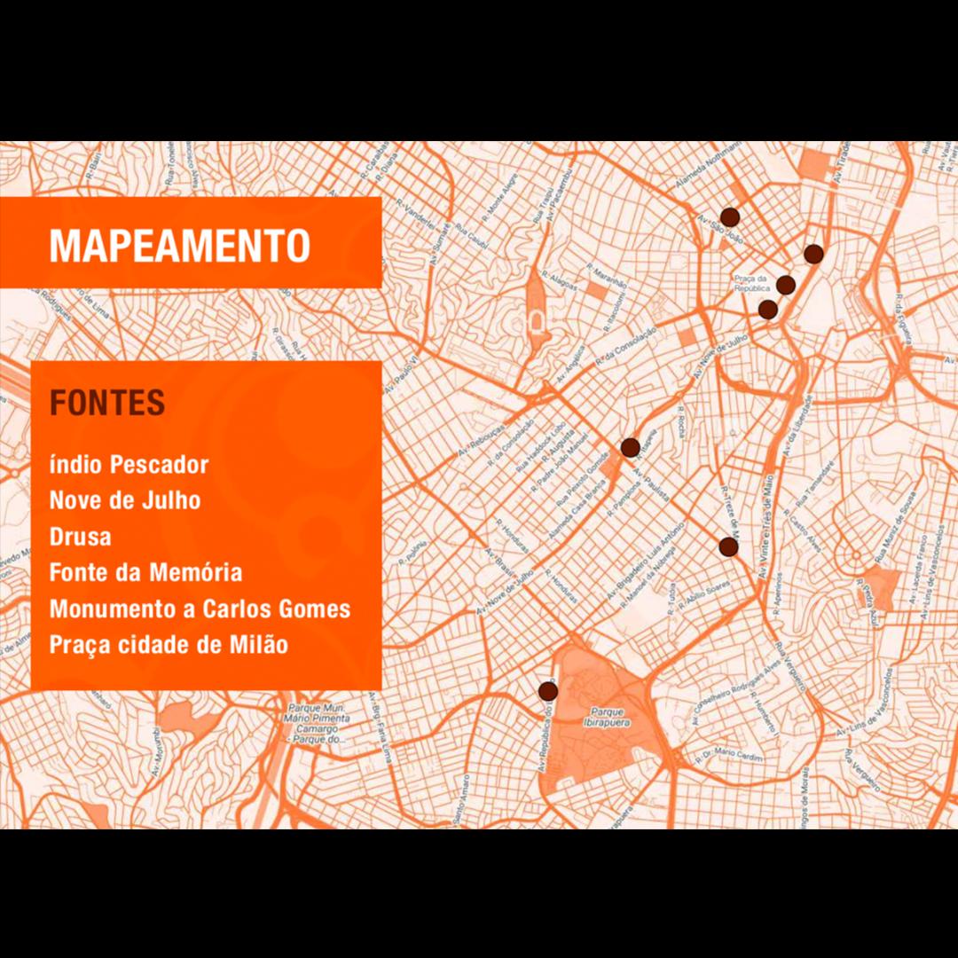 Guilherme Palmerio - Mapeamento da intervenção urbana Fontes