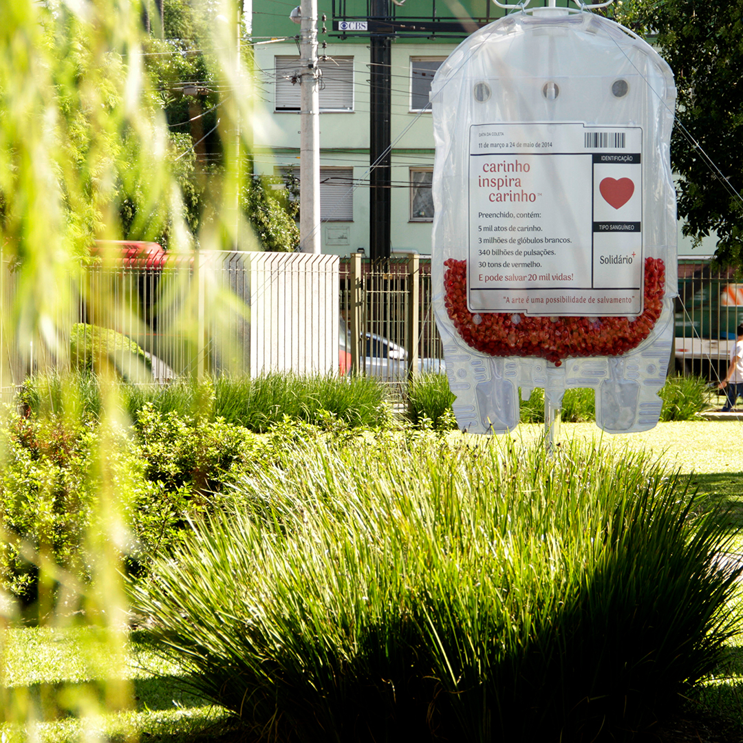 ativação Bolsa de Carinho em Porto Alegre