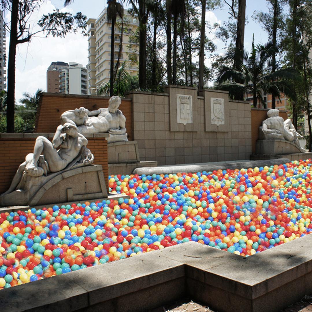 projeto de intervenção urbana na Fonte Cidade de Milão, parque Ibirapuera - Guilherme Palmerio