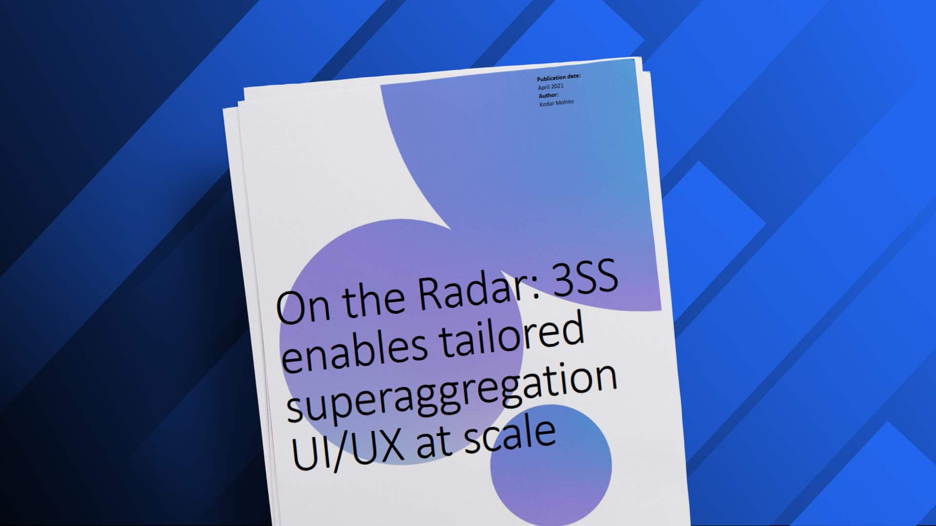 Omdia: 3SS On-The-Radar 2021