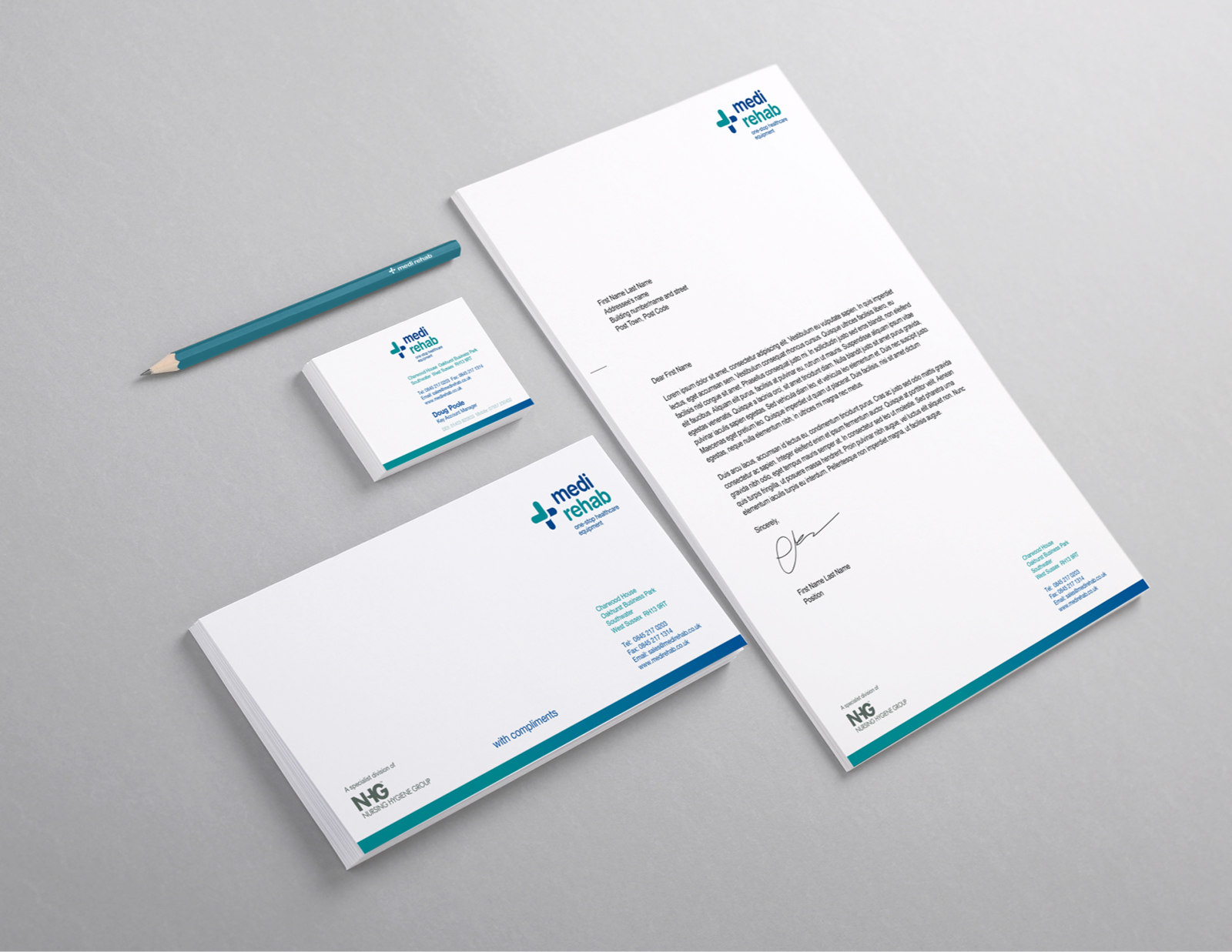 medical and heathcare branding the great field north devon