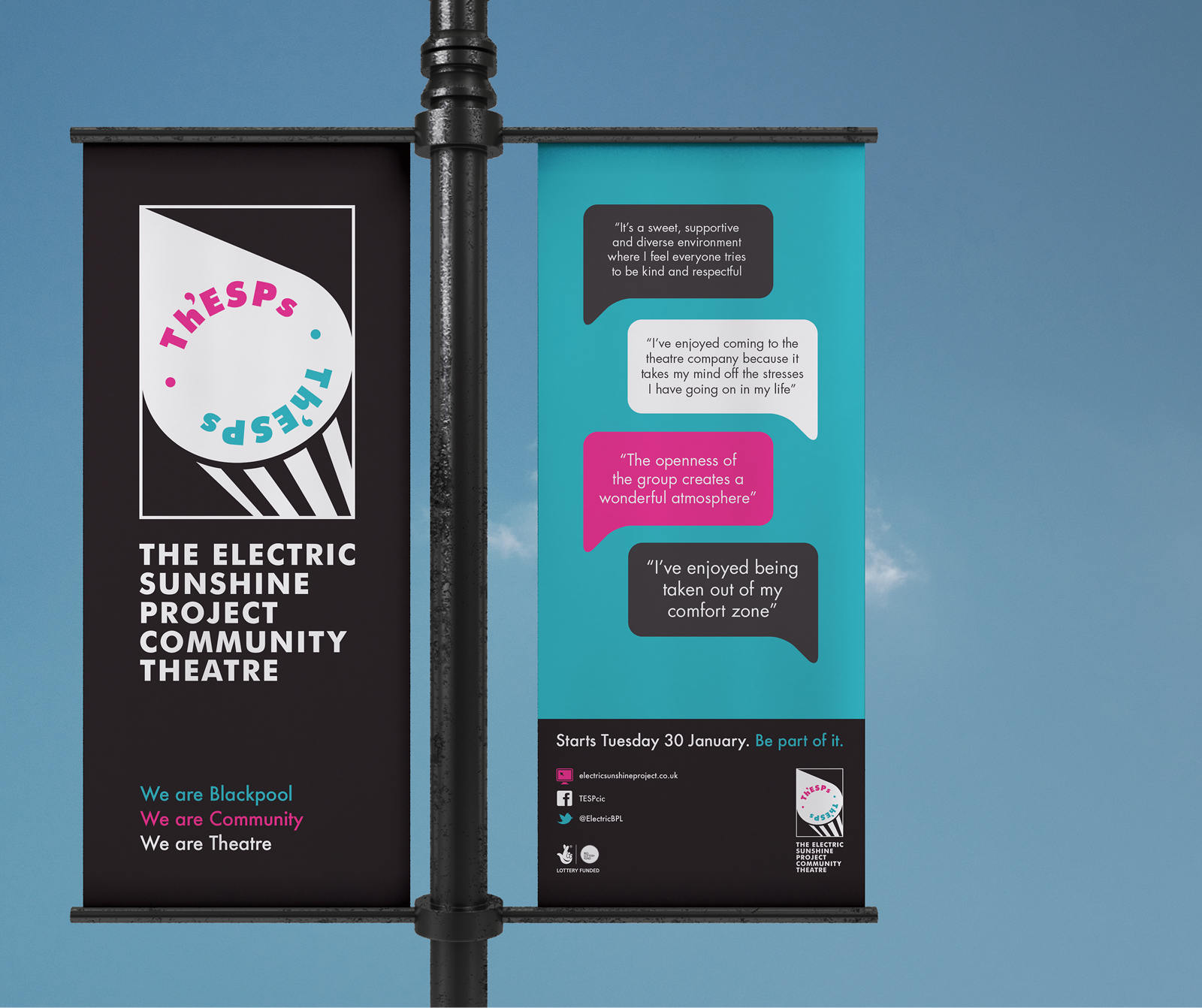 The Great Field, North Devon, a creative brand consultancy for non-profit organisations
