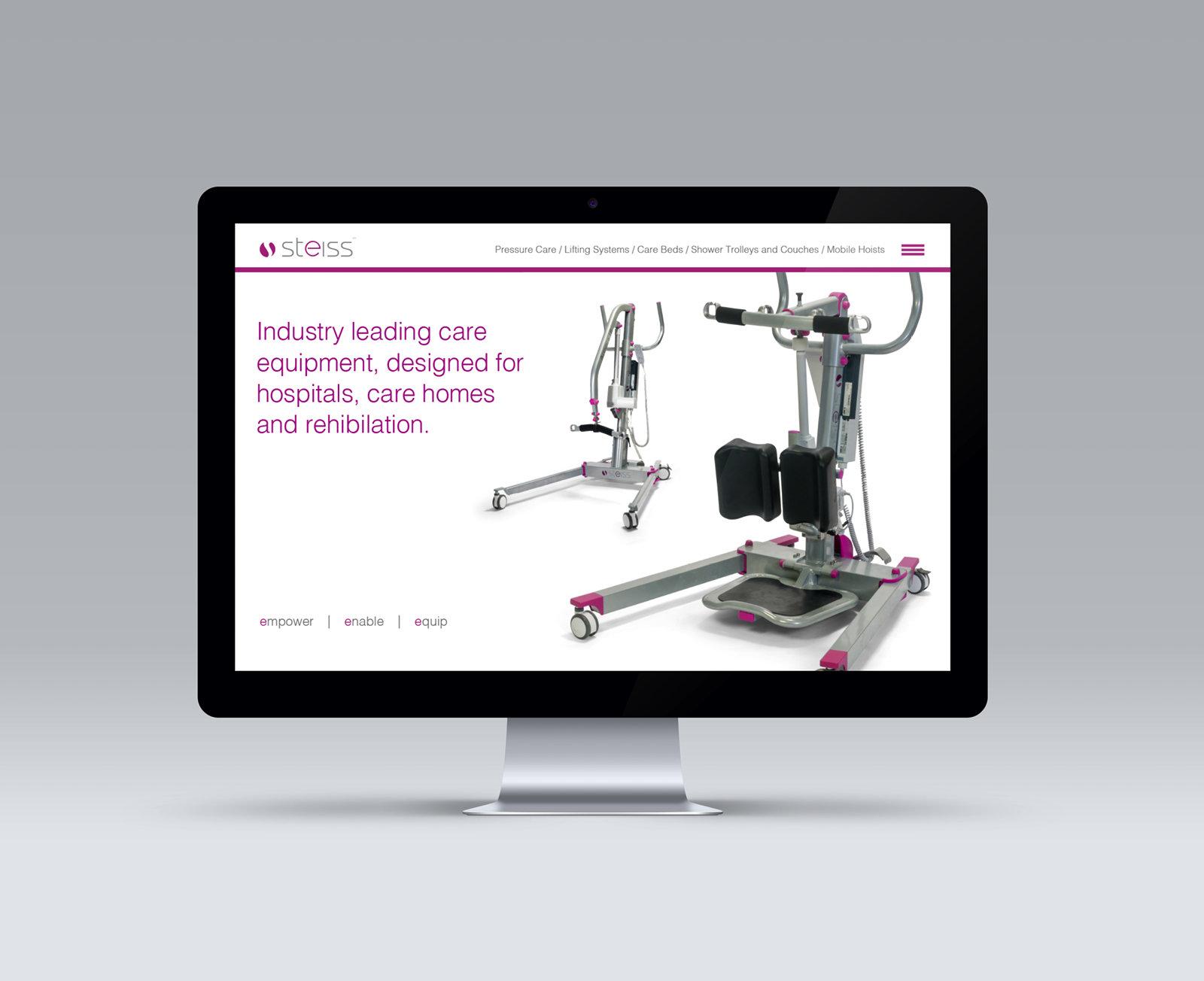 Medical-equipment-healtcare-brand-identity-website-design