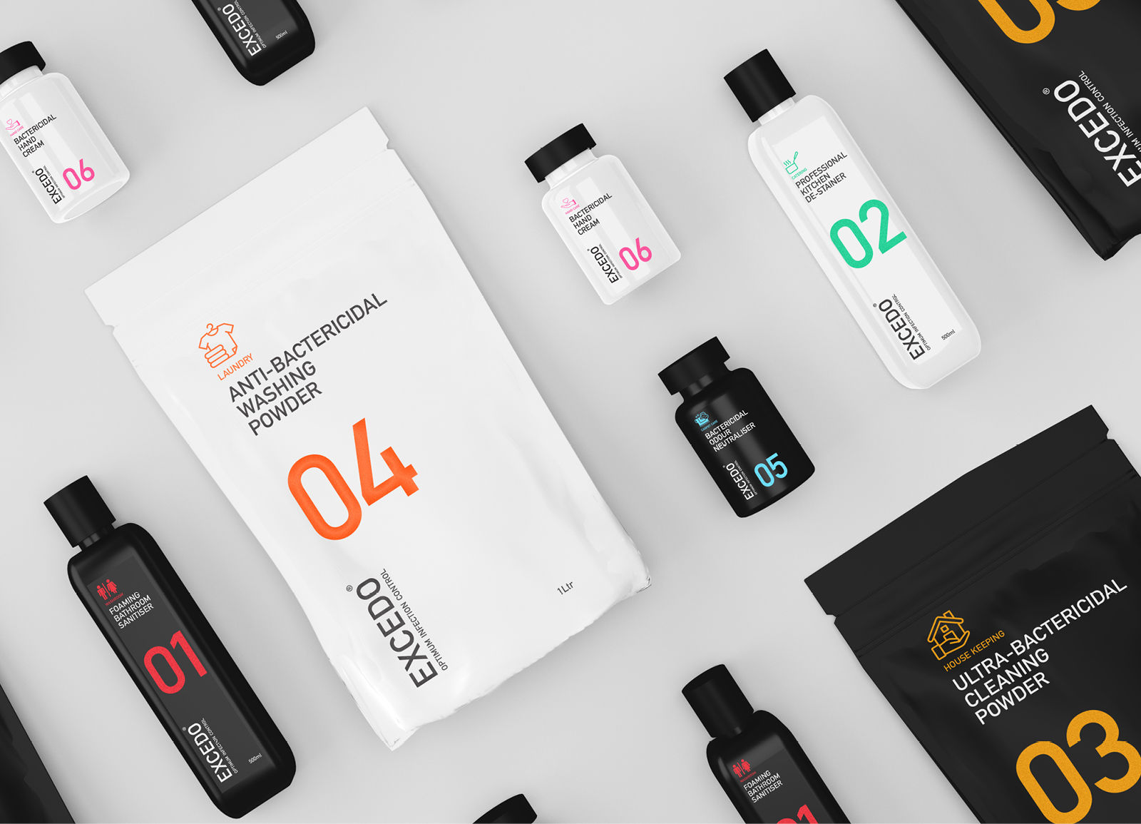 packaging design for a heathcare brand