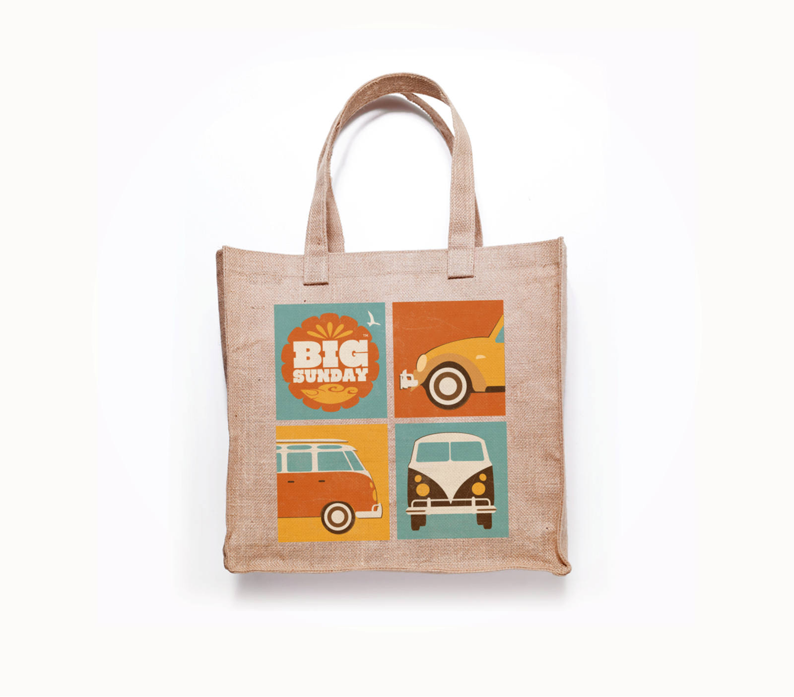 tote bag and promotional material for charity festival