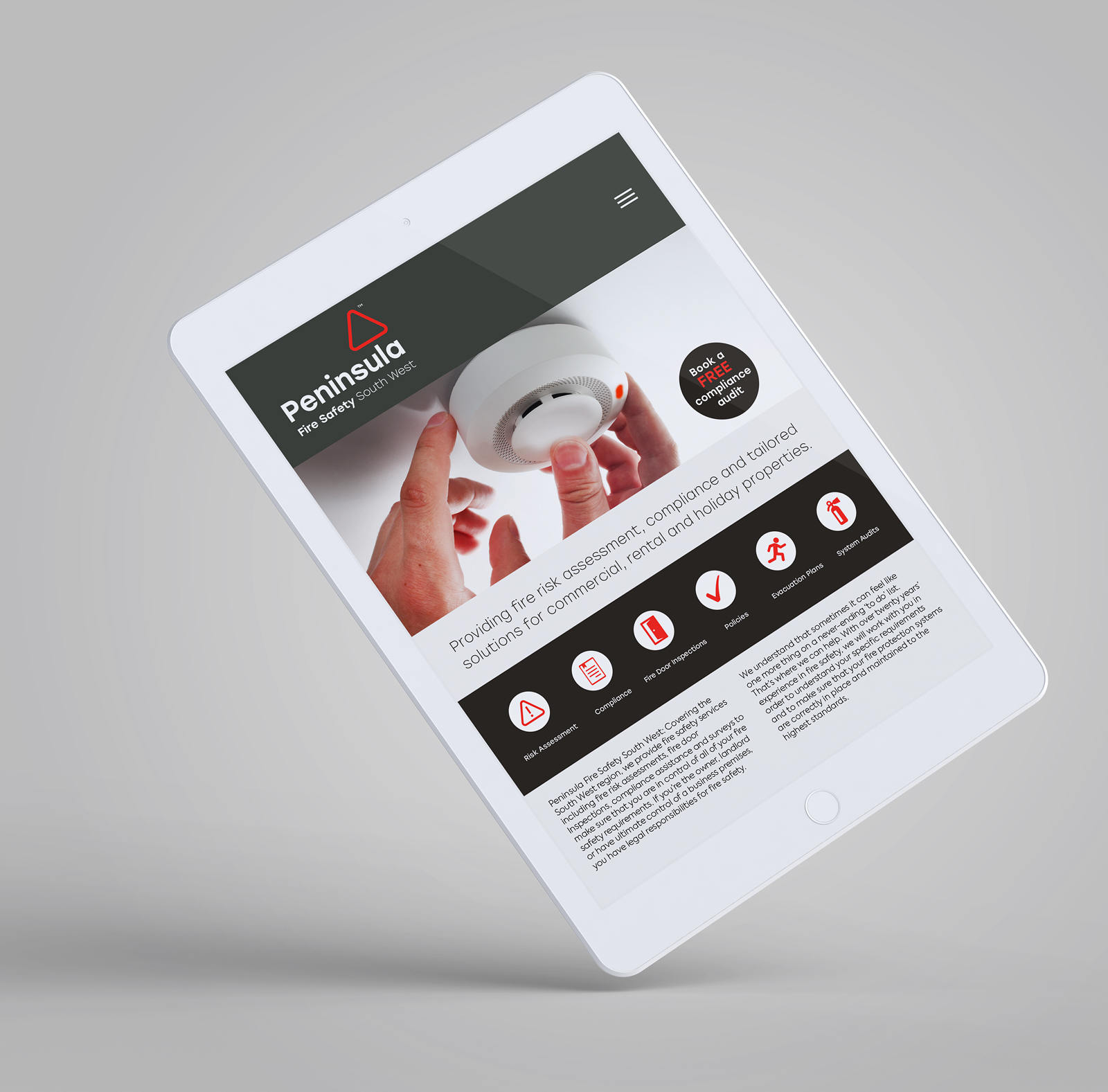 website design for commercial services and businesses