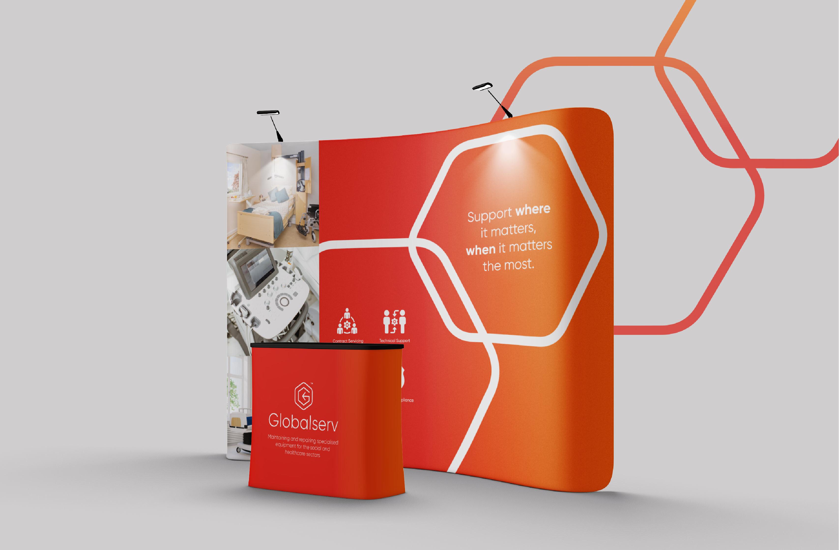 Branding for corporate healthcare equipment service provider