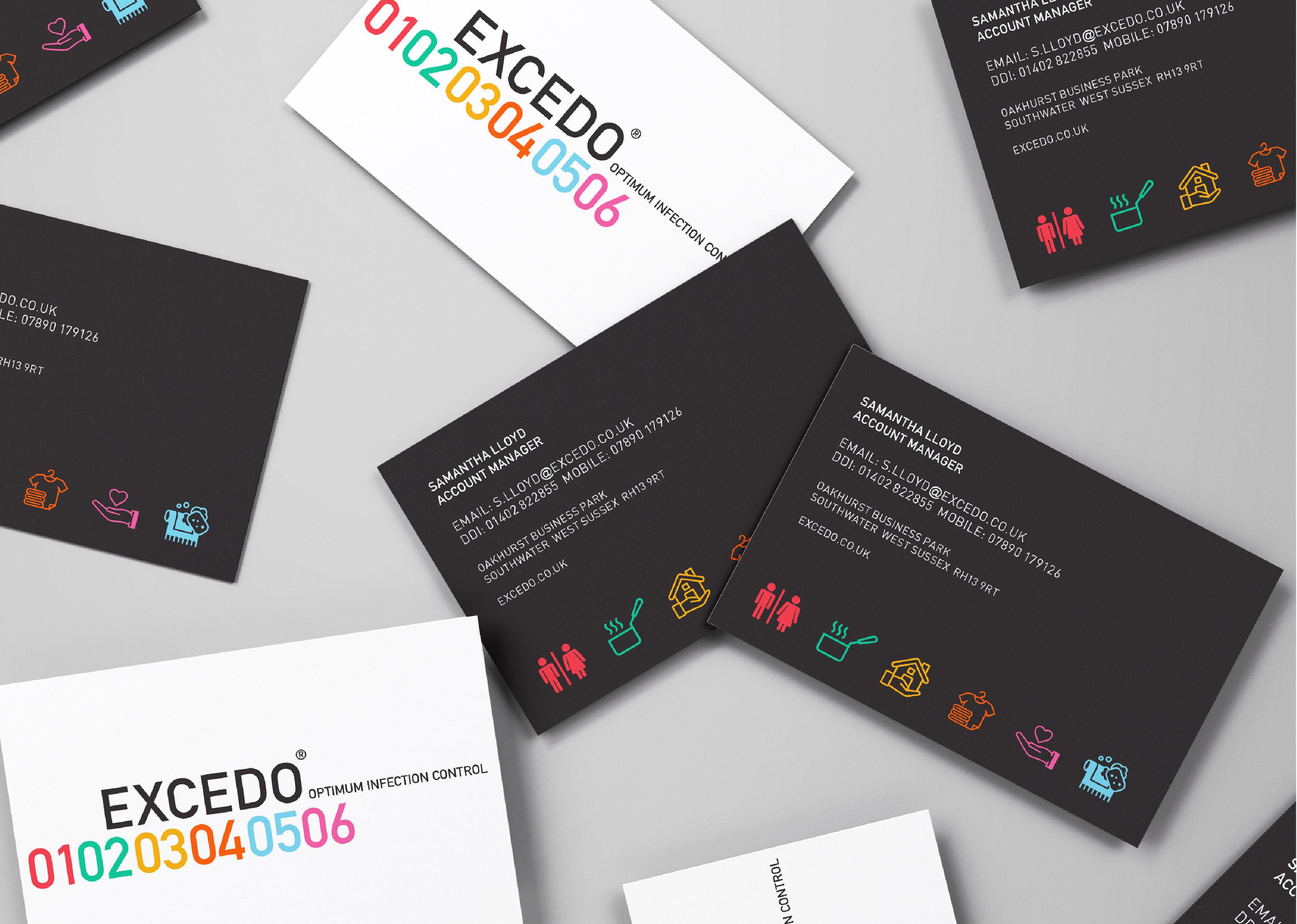rebrand identity design for healthcare consumables company