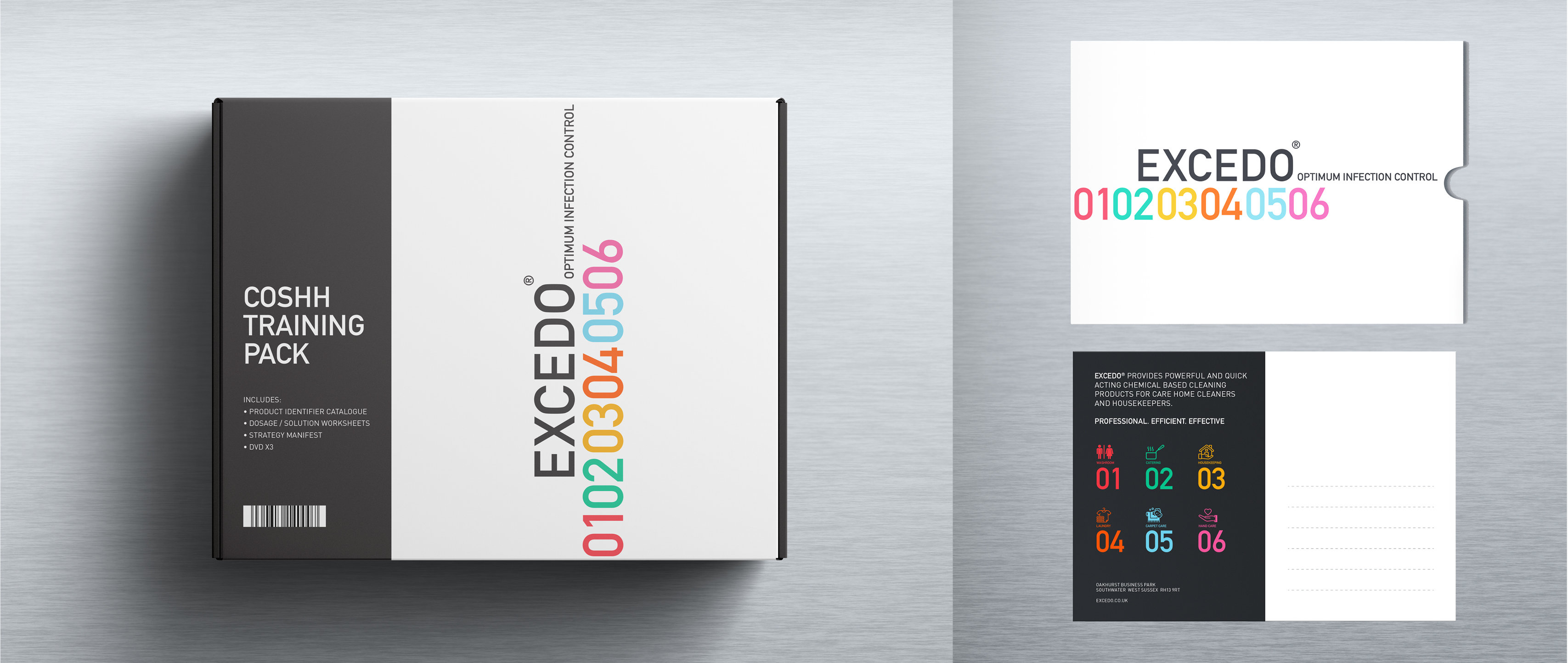 brand design and packaging for healthcare consumables organisation