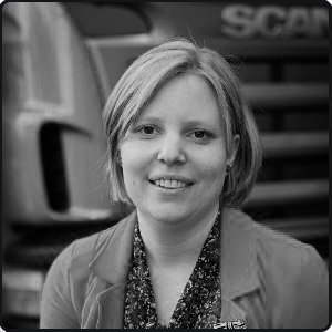 Mieke Pareyn Scania Parts Logistics StreetwiZe