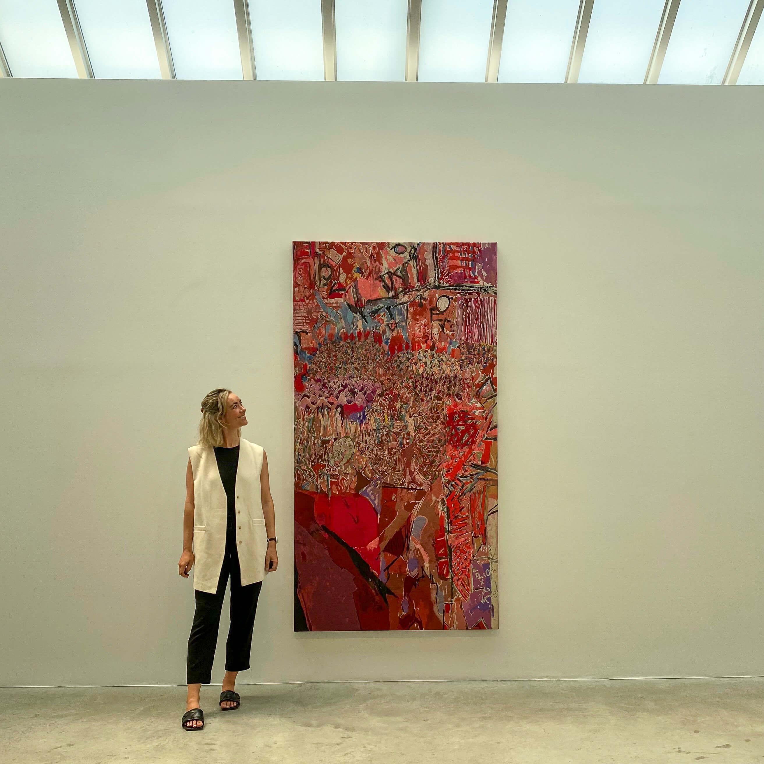 Ivan Morley at Bortolami Gallery 2021