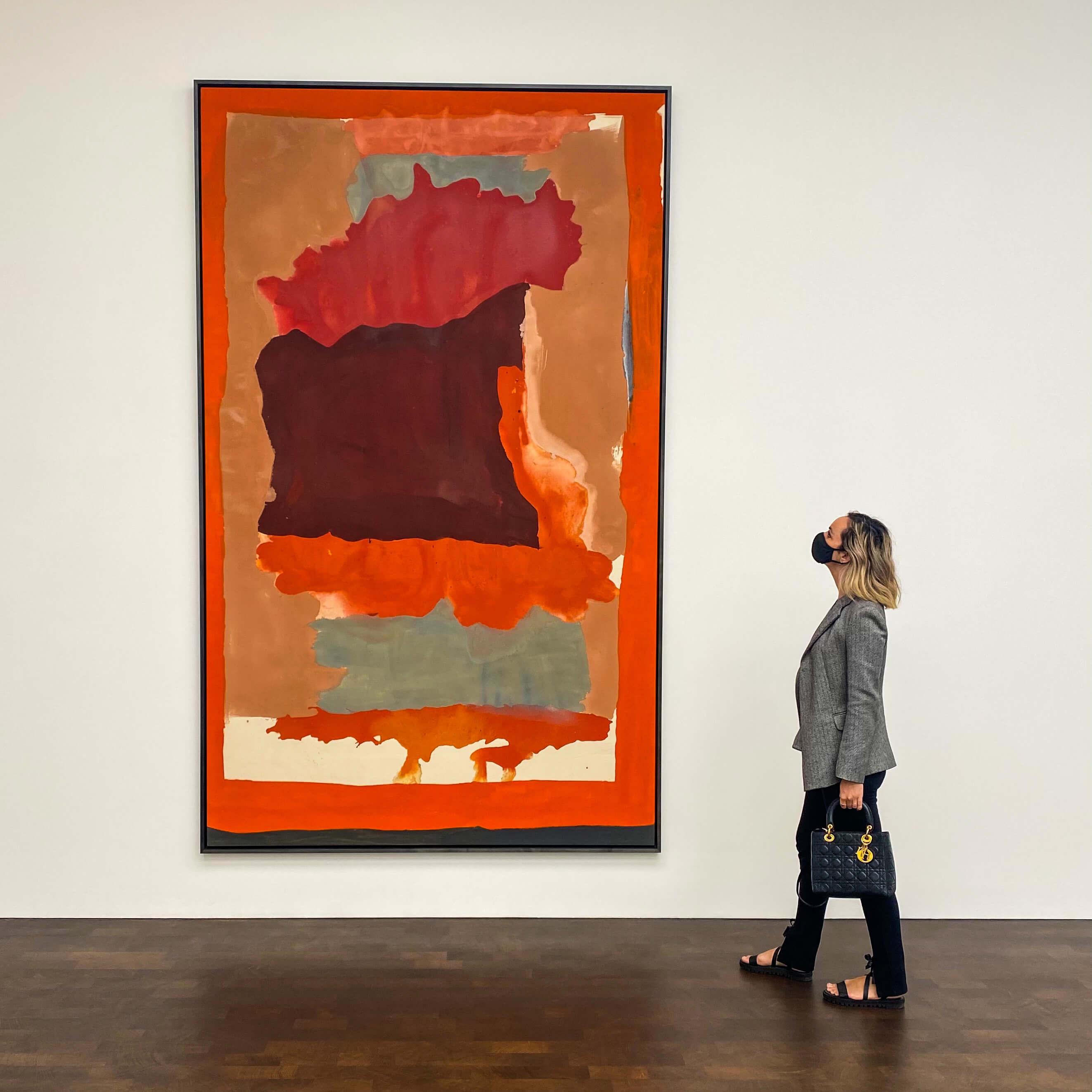 Helen Frankenthaler at Gagosian 2021