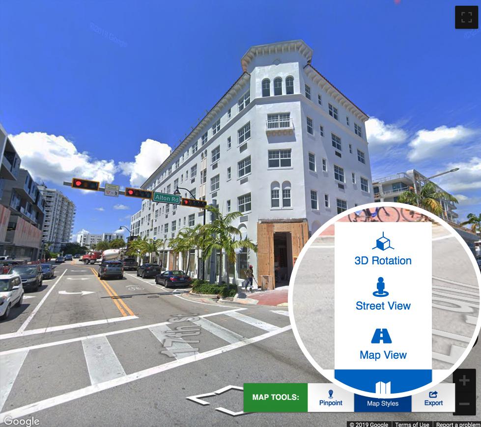 ZoomProspector street view