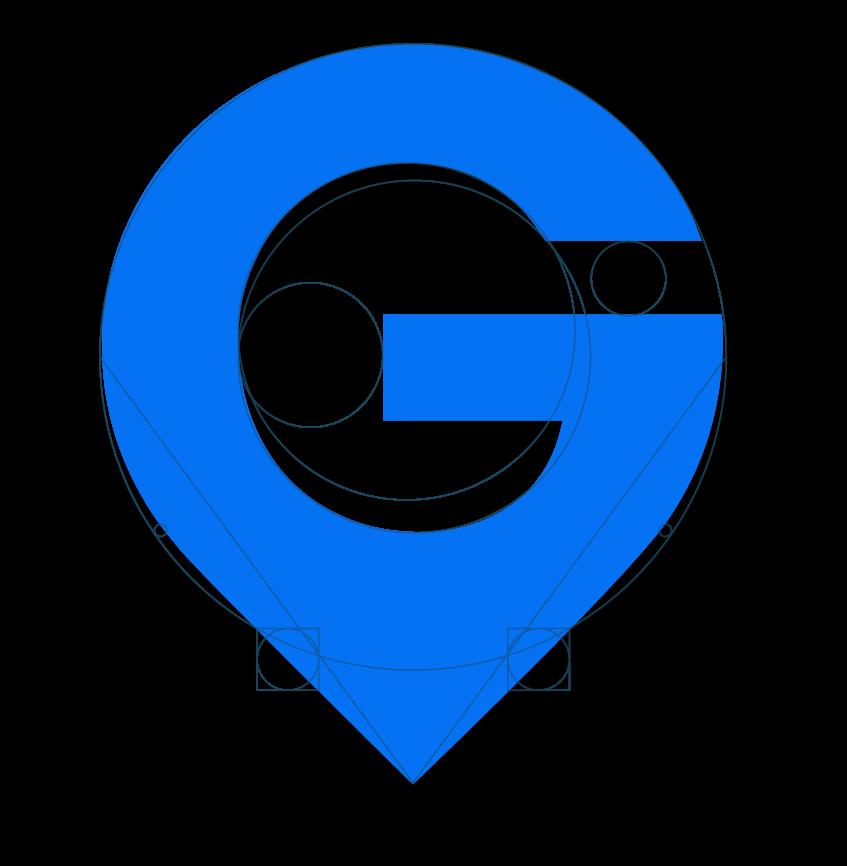 GIS Planning logo golden ratio