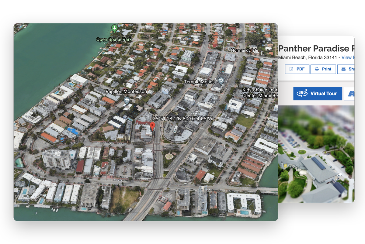 GIS Planning 360 Virtual Tours