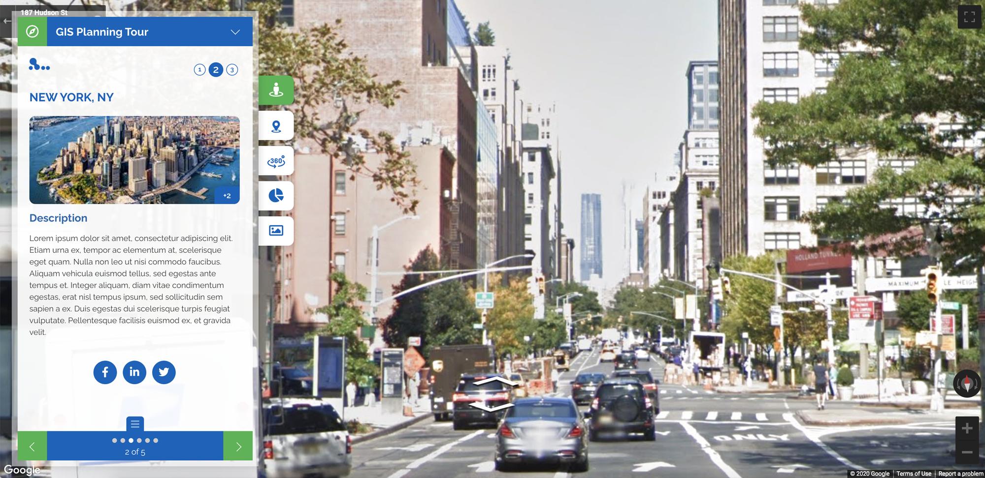 ZoomTour Stop Street View